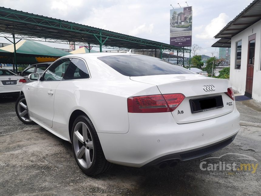 Audi A5 2010 Tfsi Quattro S Line 2 0 In Kuala Lumpur Automatic Coupe White For Rm 109 333