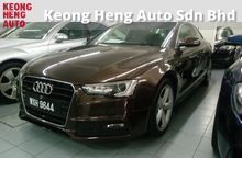 GST WE ABSORBED 2012 Audi A5 2.0 Turbo Coupe S-LINE New facelift LED daylight CBU