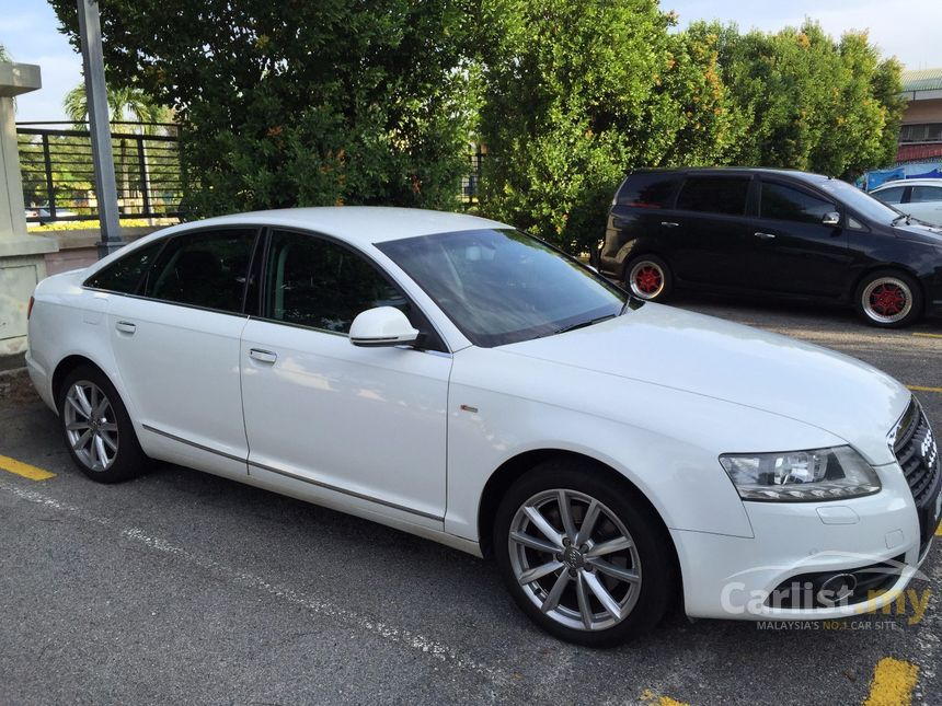 audi a6 2010 2 0 in kuala lumpur automatic sedan white for rm 79 000 3733187. Black Bedroom Furniture Sets. Home Design Ideas