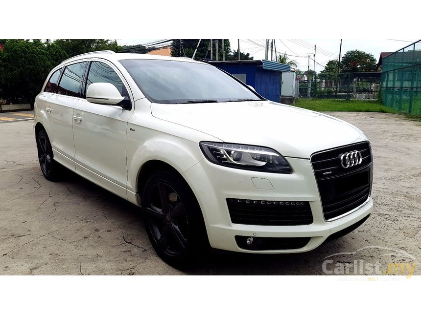 audi q7 2007 fsi quattro 4 2 in sabah automatic suv white for rm 99 900 3850332. Black Bedroom Furniture Sets. Home Design Ideas
