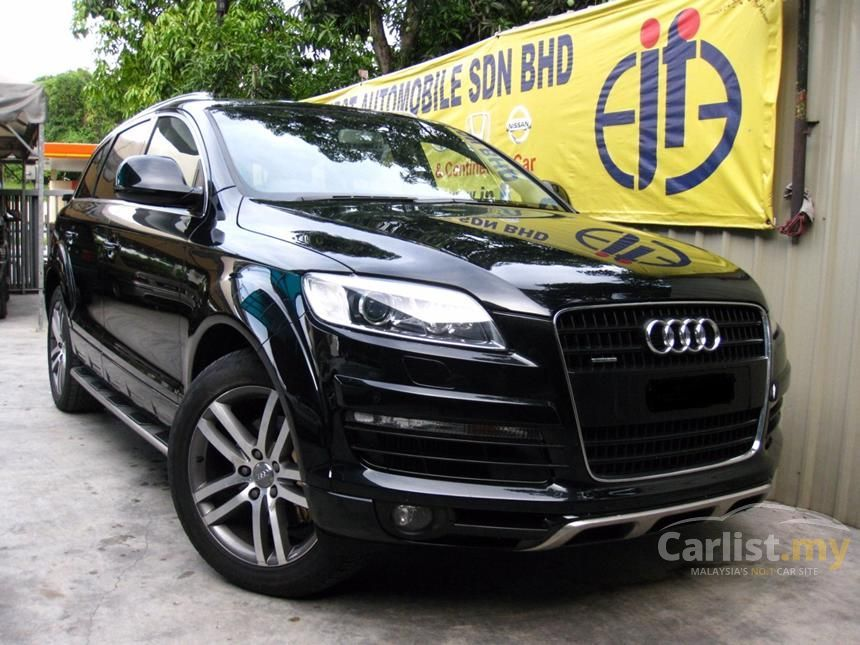 audi q7 2007 fsi 4 2 automatic suv black for rm 152 000 2220799. Black Bedroom Furniture Sets. Home Design Ideas