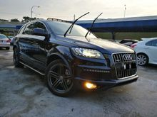 2012 Audi Q7 3.0 (A) S-LINE QUATTRO TFSI PETROL NEW FACELIFT HIGHEST SPEC NICE NUMBER