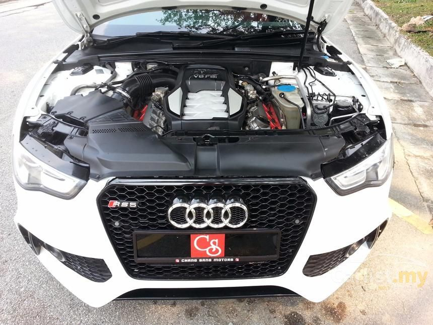 Audi S5 Malaysia Price >> Audi RS5 2013 in Kuala Lumpur Automatic White for RM 178,288 - 2459023 - Carlist.my