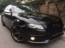 2010 Audi S4 V6 TFSI QUATTRO 3.0 SUPERCHARGED PADDLE SHIFT BUCKET SEAT MMI S-LINE 69K KM FULL SPEC REG 13