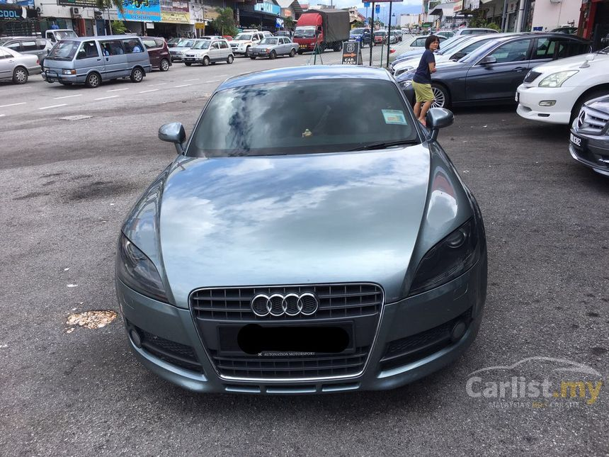 audi tt 2009 tfsi 2 0 in perak automatic coupe grey for rm 98 000 3426090. Black Bedroom Furniture Sets. Home Design Ideas