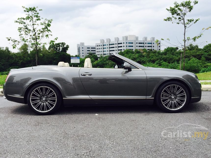 bentley continental 2008 gt speed 6 0 in selangor automatic coupe silver for rm 430 000. Black Bedroom Furniture Sets. Home Design Ideas
