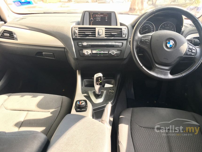 bmw 116i 2014 1.6 in selangor automatic hatchback silver for rm