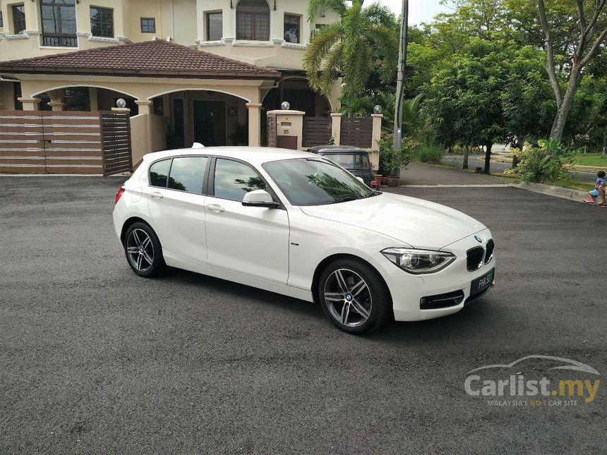 bmw 118i 2014 sport 1 6 in selangor automatic hatchback white for rm 128 000 3667283. Black Bedroom Furniture Sets. Home Design Ideas