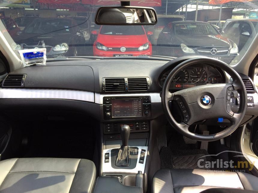 BMW 318i 2004 Lifestyle 20 in Selangor Automatic Sedan White for
