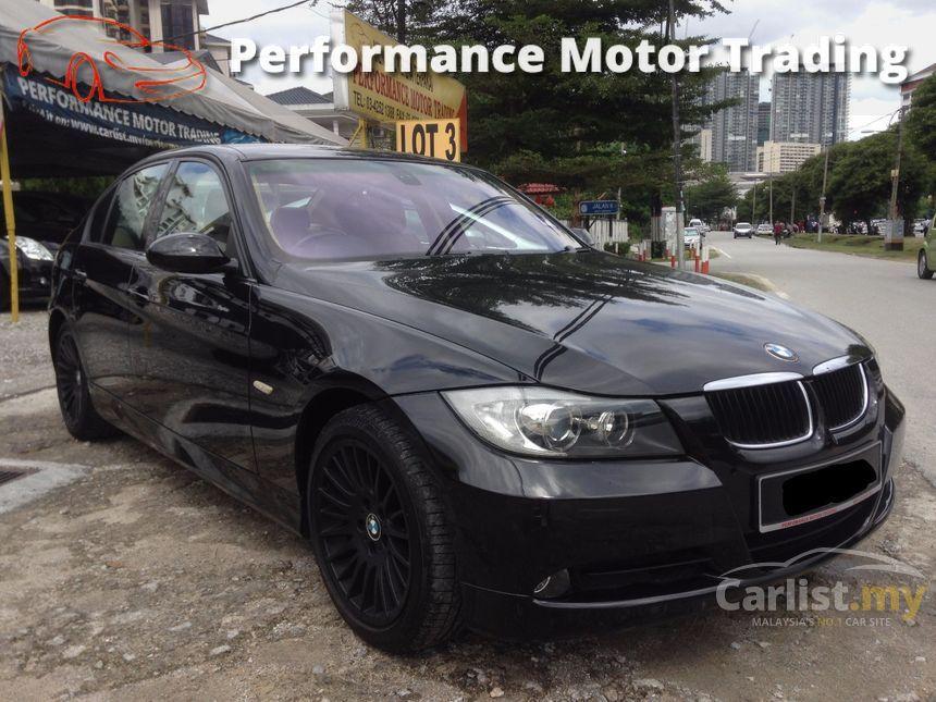 BMW 320i 2006 SE 20 in Kuala Lumpur Automatic Sedan Black for RM