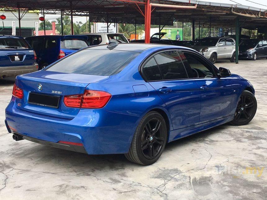 BMW 328i 2013 M Sport 20 in Kuala Lumpur Automatic Sedan Blue for