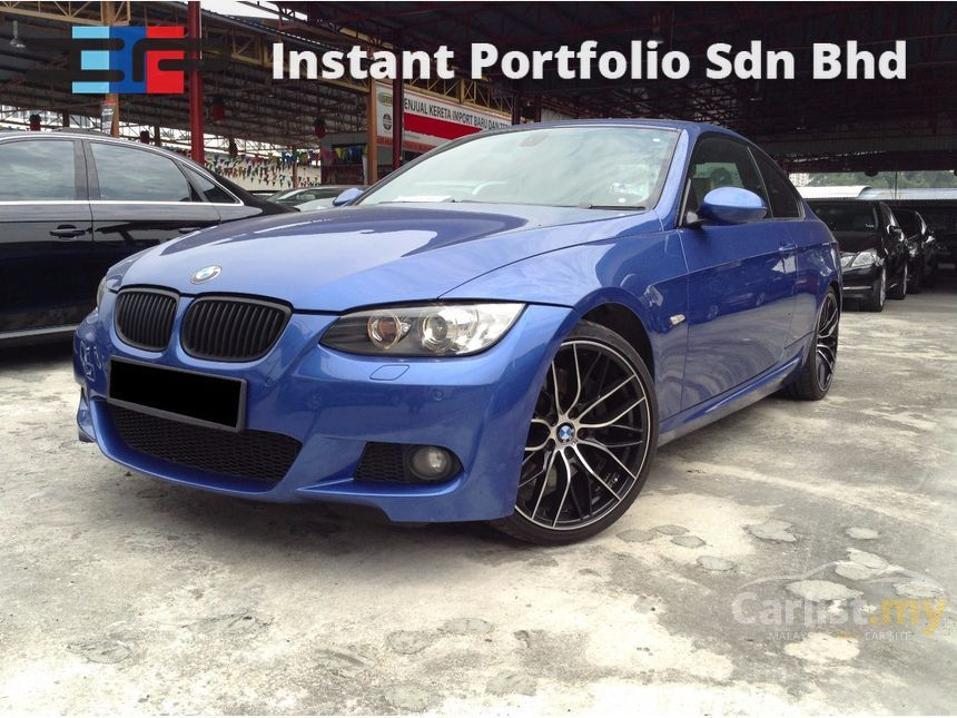 BMW 335i 2007 N54 30 in Kuala Lumpur Automatic Coupe Blue for RM