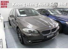 2012 BMW 520i 2.0 Sedan (TRUE YR 12) Accident Free. Like Brand New Car. PRICE CAN NEGO. CALL NOW FOR DISCOUNT