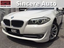 2013 BMW 520i 2.0 Twin Turbo F10 Local Spec Full Service Record 13