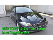 2013 BMW 520i 2.0 F10 Local Bavaria Twin Turbo Full Service Record