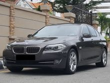2010 BMW 523i (A) F10 LOCAL HIGH SPEC CKD GPS NAVIGATION ORIGINAL M SPORT RIMS FULL SERVICE BY BMW AUTOBAVARIA LIKE NEW