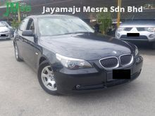 2006 BMW 523i 2.5 (A), 1 Owner, Low KM, Like New, Leather, ABS, Pust Start, HIGH LOAN, Airbag, Car King