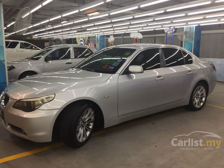 bmw 523i 2005 2 5 in kuala lumpur automatic sedan silver for rm 60 500 3645874. Black Bedroom Furniture Sets. Home Design Ideas