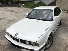 1990 BMW E34 525i 2.5 Sedan (M) M-SPORT 6 CYLINDER 5 SPEED RUNNING CONDIION