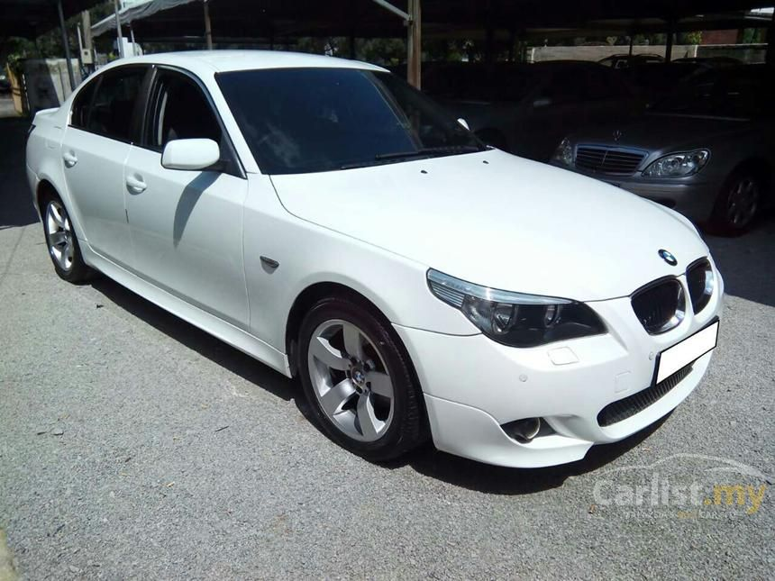 Bmw 525i 2004 2 5 In Kuala Lumpur Automatic Sedan White For Rm 63 800 2531497 Carlist My