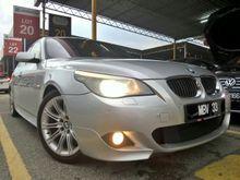BMW 525i 2.5 (A) ORIGINAL M-Sports SUNROOF KEYLESS GPS DVD LOCAL