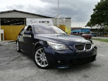 2008 BMW 525i LCi 2.5 M-Sports 1 OWNER PUSH START TIP TOP CONDITION LIKE NEW