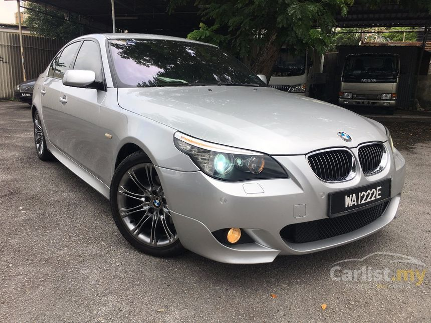 BMW 525i 2008 Sports 25 in Selangor Automatic Sedan Silver for RM