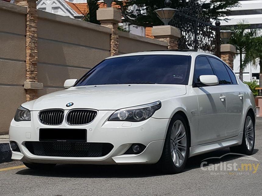bmw 525i 2009 sports 2 5 in penang automatic sedan white. Black Bedroom Furniture Sets. Home Design Ideas