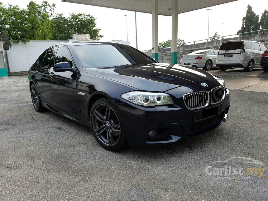 BMW 528i 2012 M Sport 20 in Selangor Automatic Sedan Black for RM