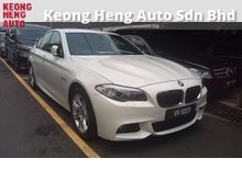 GST INCLUDED BMW 528i 2.0 M-Sport CKD Local Low Mileage 68k Full service