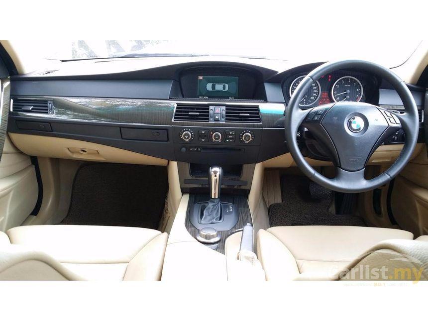 bmw 530i 2007 3.0 in kuala lumpur automatic sedan black for rm