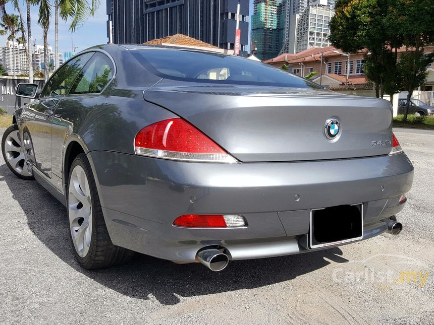 bmw 645ci 2004 4 4 in selangor automatic coupe grey for rm. Black Bedroom Furniture Sets. Home Design Ideas
