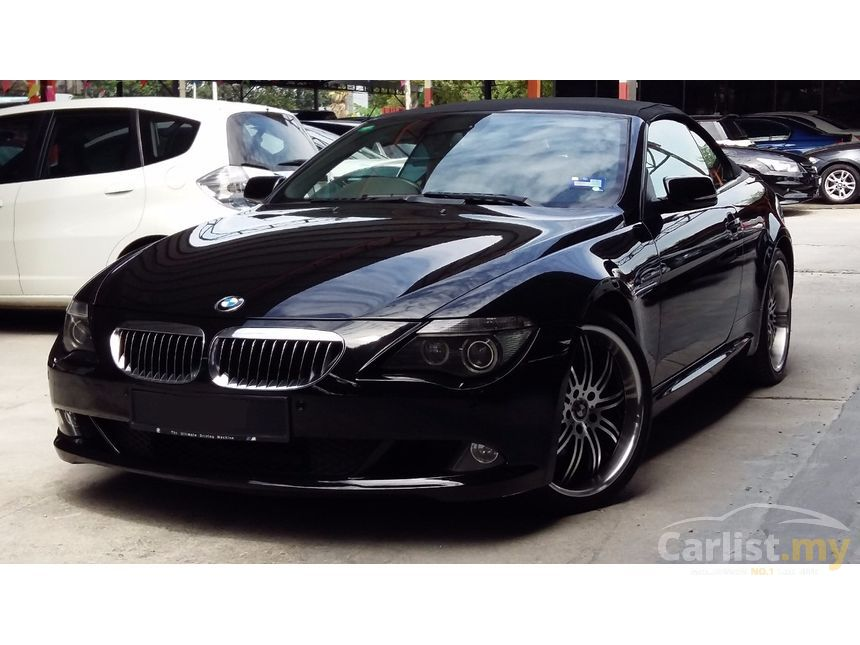 BMW 645Ci 2005 44 in Selangor Automatic Coupe Black for RM