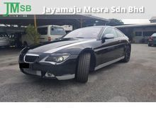 2007 BMW 645Ci 4.4 Sports Coupe, Leather, Like New, Well Maintain, Sport Model, High Spec, High Loan, OFFER PRICE