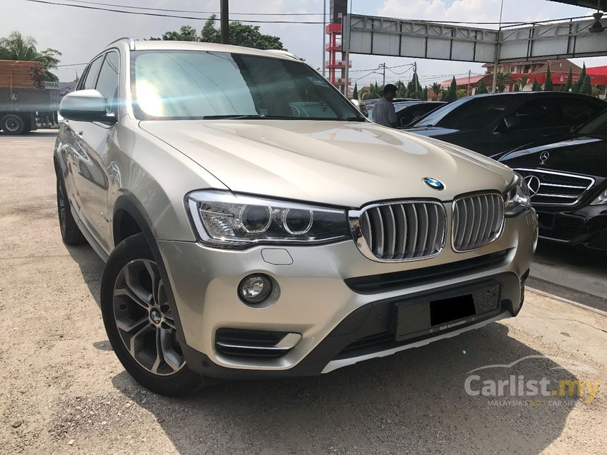 bmw x3 2015 xdrive20i 2 0 in selangor automatic suv silver. Black Bedroom Furniture Sets. Home Design Ideas