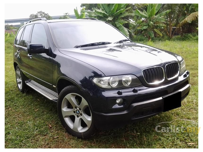 bmw x5 2007 si 3.0 in selangor automatic suv blue for rm 75,800