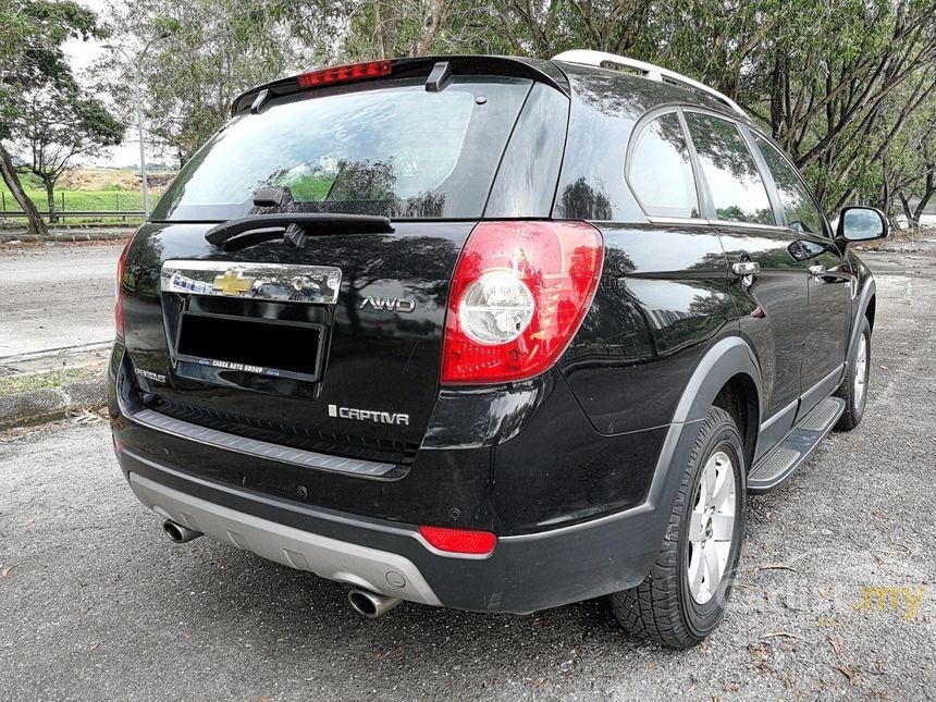 Chevrolet Captiva 2010 24 in Kuala Lumpur Automatic SUV Black for