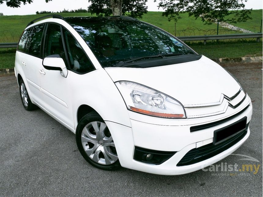 citroen grand c4 picasso 2010 grand picasso 1 6 in kuala lumpur automatic mpv white for rm. Black Bedroom Furniture Sets. Home Design Ideas