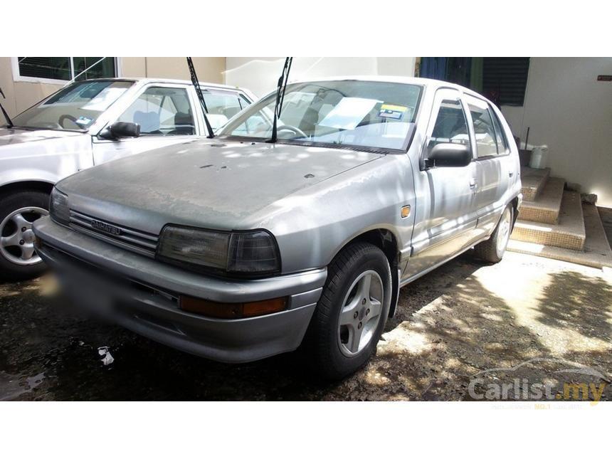 1993 Daihatsu Charade Aura Hatchback