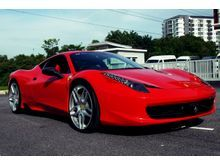 2011 Ferrari 458 Italia 4.5 Coupe Accesories Upgrade