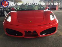 Ferrari F430 F1 PADDLE SHIFT,LUXURY N CARBON INTERIOR,ELECTRONIC SEAT WITH NAPPA LEATHER,XENON LAMP,SPORT RIM,YEAR 2007,FREE MANY GIFTS