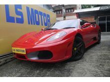 (ORI YEAR MADE 2006,REG 2010)(43O COUPE,4.2 F1 SPORT)(ORIGINAL FERRARI RED,NICE NO 126)(FULL SERVICE RECORD,24K KM DONE ONLY)1 VVIP OWNER,ACCFREE....