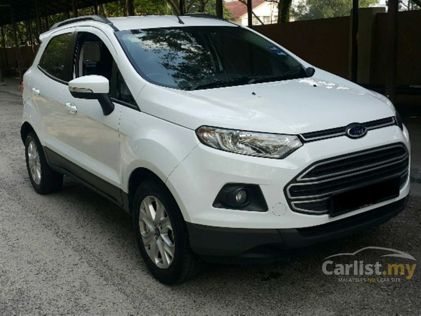 2014 Ford EcoSport Trend SUV & Ford EcoSport 2014 Trend 1.5 in Kuala Lumpur Automatic SUV White ... markmcfarlin.com