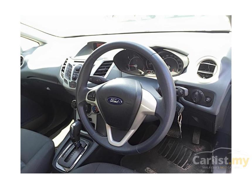 2012 Ford Fiesta LX Sedan