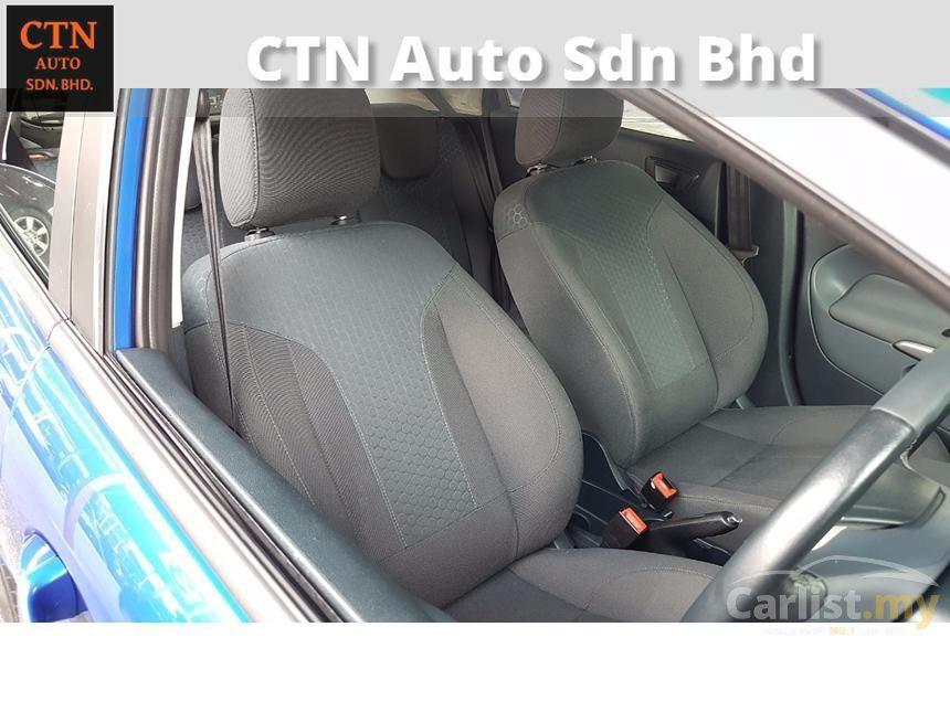 2012 Ford Fiesta Sapphire Hatchback