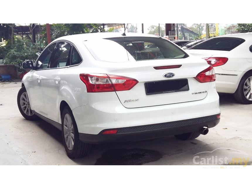2013 ford focus titanium sedan - Ford Focus 2013 Sedan White
