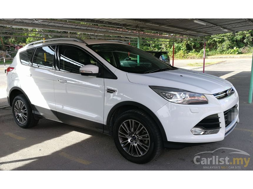 ford kuga 2013 ecoboost titanium 1 6 in labuan automatic suv white for rm 66 500 3569571. Black Bedroom Furniture Sets. Home Design Ideas