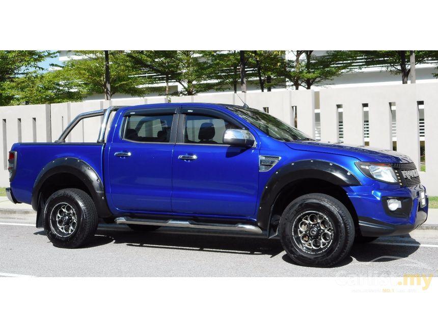 2012 ford ranger blue - photo #19
