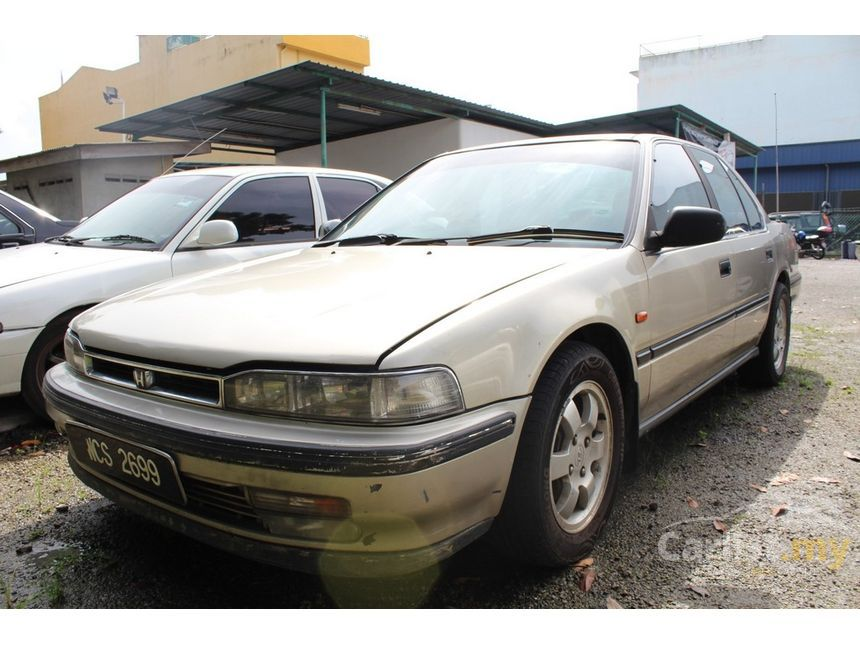 Honda accord 1992 ex 20 in selangor automatic sedan gold for rm 1992 honda accord ex sedan sciox Image collections