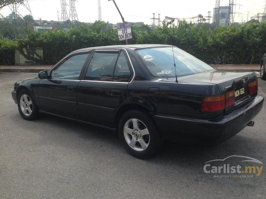 honda accord 1991 exi 2 0 in selangor automatic sedan black for rm 5 000 3016583. Black Bedroom Furniture Sets. Home Design Ideas
